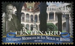 2017 MÉXICO UNIVERSIDAD De SAN NICOLAS De HIDALGO, MNH ARCHITECTURE, UNIVERSITY, EDUCATION - Messico