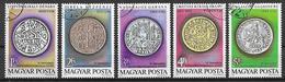 UNGHERIA 1979 CONGRESSO NUMISMATICO YVERT. 2683-2687 USATA VF - Ungheria