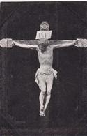 SIN DESCRIPCION, CRISTO DOLIENTE EN LA CRUZ. TIP MODERNA. CPA CIRCA 1910s - BLEUP - Jésus