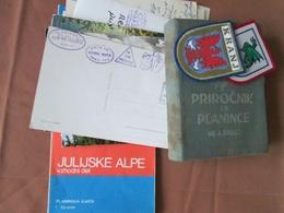 SLOVENIA, GORNIŠTVO, POHODNIŠTVO,  MOUNTAINEERING - Sachbücher