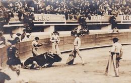 PLAZA DE TOROS DE MEXICO. VARMILLITA EN EL TORNEO, PUBLICIDAD EN FOTO, CORONA CINZANO. CIRCULEE 1935 A BUENOS AI - BLEUP - Mexique