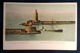 Civitavecchia - Porto Traiano - (Naufragio Del Vapore Linda 1881)  - CG - Barcos