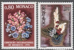 MONACO 1977 SERIE  N° 1115 Et N° 1116 - 2 TP NEUFS** - Monaco