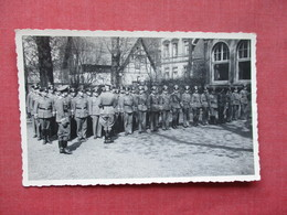 RPPC  WW2 Germany Soldier Army  Group  Crease  Ref 3400 - War 1939-45