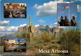 Arizona Greetings From Mesa Multi View - Mesa