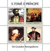 Sao Tome 2004 Navigators,Vasco Da Gama - Sao Tome And Principe