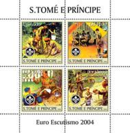 Sao Tome 2004 Real Scouts - Sao Tome And Principe