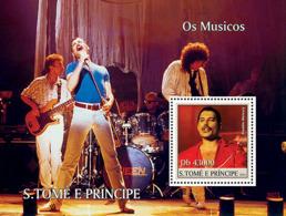 Sao Tome 2004  Muscian ,Freddie   Mercury - Sao Tome And Principe