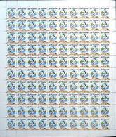 St.Vincent 1988 Pelican Birds 45c COMPLETE SHEET:100 Stamps. - Pélicans