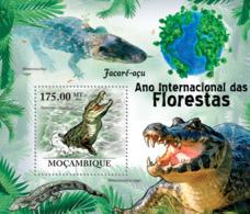 Mozambique 2011 Fauna  Crocodiles - Sao Tome And Principe