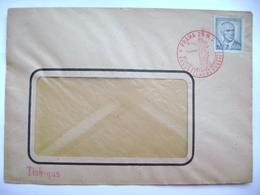 Cover Commemorative Postmark 5.V.1946 Praha Anniversary Of The May Revolution, Liberation Of The Republic, Stamp Benes - Tschechoslowakei/CSSR