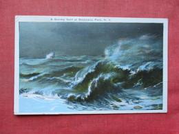 Stormy Surf At Rockaway Park   - New York > Long Island   Ref 3401 - Long Island
