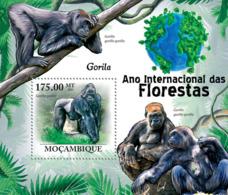 Mozambique 2011 Fauna Gorillas - Sao Tome And Principe