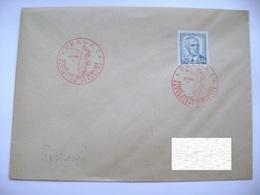 Cvr Commemorative Postmark 9.V.1946 Praha Anniversary Of The May Revolution Liberation Of The Republic, Stamp Benes 60h - Tschechoslowakei/CSSR