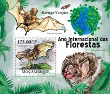 Mozambique 2011 Fauna Vampire Bat - Sao Tome And Principe
