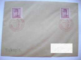 Cvr Commemorative Postmark 9.V.1946 Moravska Ostrava Anniversary Of The May Revolution Liberation Of The Republic - Tschechoslowakei/CSSR