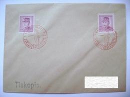 Cvr Commemorative Postmark 9.V.1946 Karlovy Vary Anniversary Of The May Revolution Liberation Of The Republic, Stefanik - Tschechoslowakei/CSSR