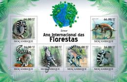 Mozambique 2011 Fauna Lemurs - Sao Tome And Principe