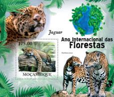 Mozambique 2011 Fauna Jaguars - Sao Tome And Principe