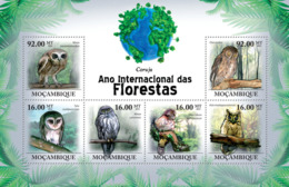 Mozambique 2011 Fauna  Owls - Sao Tome And Principe