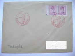 Cvr Commemorative Postmark 9.V.1946 Praha Anniversary Of The May Revolution Liberation Of The Republic, Stefanik 2x 30 H - Tschechoslowakei/CSSR