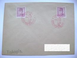 Cvr Commemorative Postmark 9.V.1946 Liberec Anniversary Of The May Revolution Liberation Of The Republic, Stefanik - Tschechoslowakei/CSSR