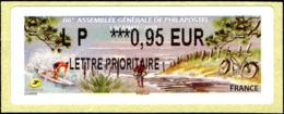 France Lisa N** Yv:2022 66.Assemblée Générale De Philapostel Lacanau - 2010-... Vignettes Illustrées