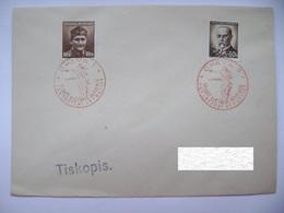 Cvr Commemorative Postmark 5.V.1946 Opava Anniversary Of The May Revolution Liberation Of The Republic, Masaryk, Novak - Tschechoslowakei/CSSR