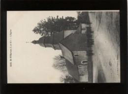 35 St M'hervon L'église édit. Lamiré N° 3218 Animée - Autres Communes