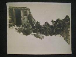 VIEILLE OLD VECCHIA FOTO DA VEDERE A VOIR RIFUGIO VALLOT M. 4365 ALPINI SCALATORI MILITAIRES - Guerre, Militaire