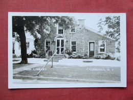 RPPC  Free Library  Caledonia    New York      Ref 3401 - Other