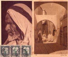 ITALIA   Colonie  Lotto Di 2 Cartoline  Della Libia Viaggiate X L' Italia - Libya