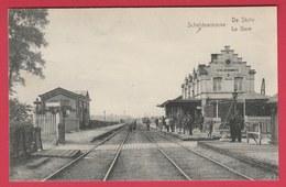 Scheldewindeke - De Statie - 1921 ( Verso Zien ) - Oosterzele
