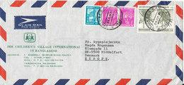 Bangladesh Air Mail Cover Sent To Denmark 24-6-1981 - Bangladesh