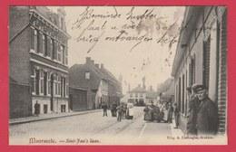 Moorsele - Sint-Jan's Laan ... Geanimeerd - 1907 ( Verso Zien ) - Wevelgem