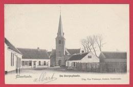Moorsele - De Dorpsplaats - 1906 ( Verso Zien ) - Wevelgem