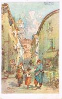 Nice Journée Niçoise -27 Février 1916-Illustrateur- Vieux Nice -Militaire-Enfant- Pas Courante- Scans Recto Verso- - Altri