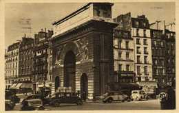PARIS  Porte Saint Martin RV  Beau Timbre 30C Cachet Flamme - Arrondissement: 10