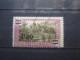 VEND BEAU TIMBRE DE MONACO N° 110 , X !!! - Monaco