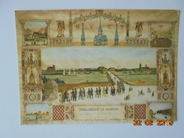 """Tours. Musee Du Compagnonnage. Conduite Du Compagnon Couvreur """"Tourangeau La Sagesse"""" (1848 Aquarelle). Valoire 2457A - Tours"""