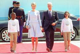 Le Roi Philippe Et La Reine Mathilde Lors Du 70ème Anniversaire Du Débarquement Allié - Koninklijke Families
