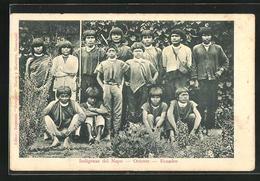 AK Ecuador, Indigenas Del Napo, Oriente - Ecuador