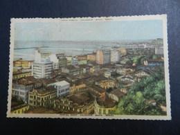 19940) BRAZIL BAHIA SALVADOR VISTA PARCIAL VIAGGIATA - Salvador De Bahia
