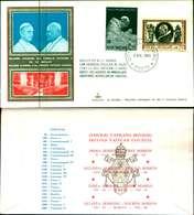 12086a)F.D.C.serie SOLENNE CHIUSURA DEL CONCILIO VATICANOII.8-12-65 KIM COVER - FDC