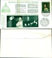 12088a)F.D.C.serie Kim Cover Concilio Vaticano II-13-10-62 - FDC