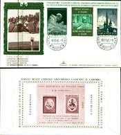 12089a)F.D.C.serie 15lire+5 Posta Aerea Valori Paolo VI CONCILIO VATICANO II Kim Cover-10-11-65 - FDC