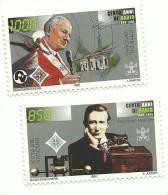 1995 - Vaticano 1025/26 Guglielmo Marconi - Altri