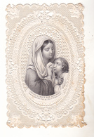 IMAGE RELIGIEUSE  CANIVET  DENTELLE CONSOLATRICE DES AFFLIGES   EDITEUR BOUASSE - Devotion Images