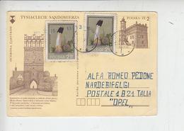 POLONIA - Intero Postale Con Integrazione - 1944-.... Repubblica