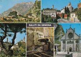 12365-SALUTI DA GEMONA(UDINE)-FG - Saluti Da.../ Gruss Aus...